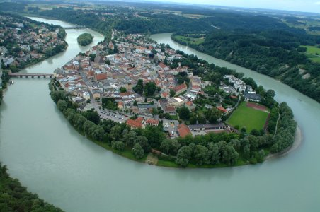 Wasserburg am Inn, Bavaria, Southern Germany
