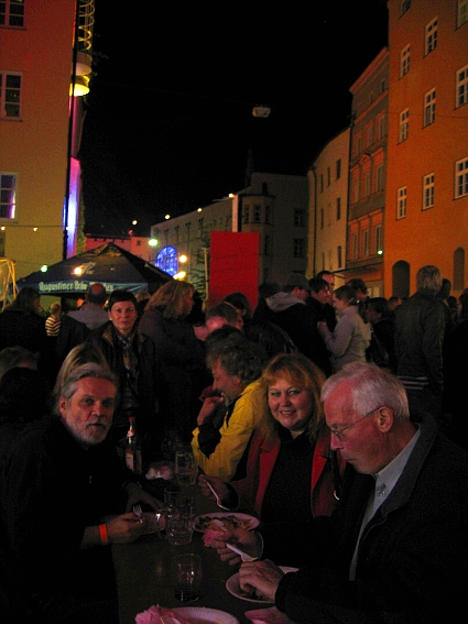 Gerhard Hoeberth and wife Ilona at Wasserburg Illumination Feast 2007